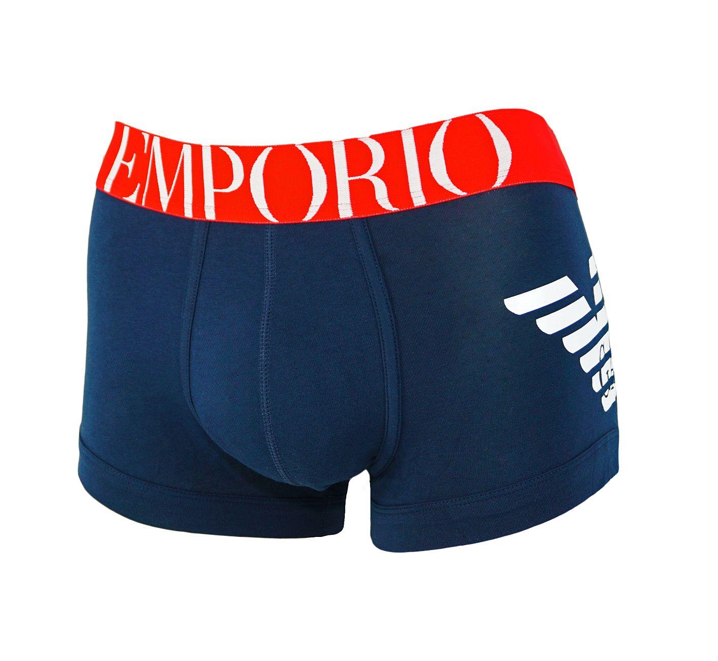 Emporio Armani Trunk Unterhose Short 111866 8P725 00135 MARINE F18-EAT2