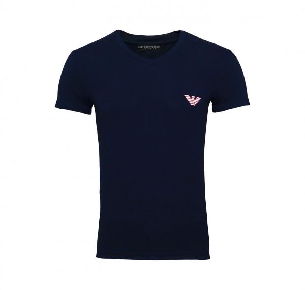 Emporio Armani T-Shirt V-Neck 110810 9P523 00135 navy FS19-EAT1