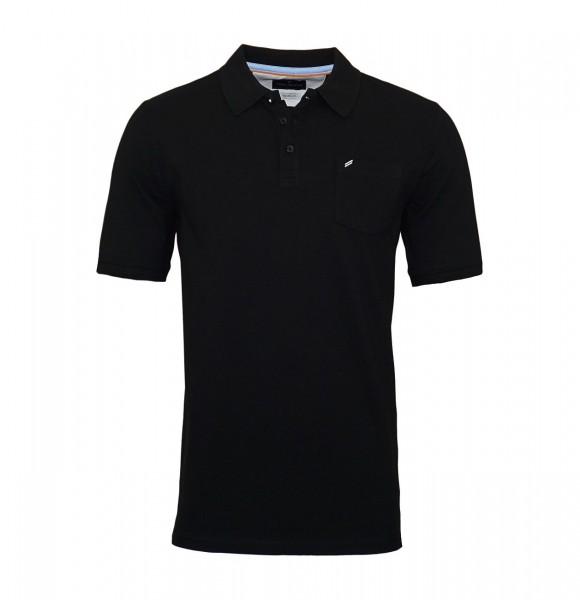 Daniel Hechter Poloshirt Polo T-Shirt 75028 191915 990 black WF19-DHP1