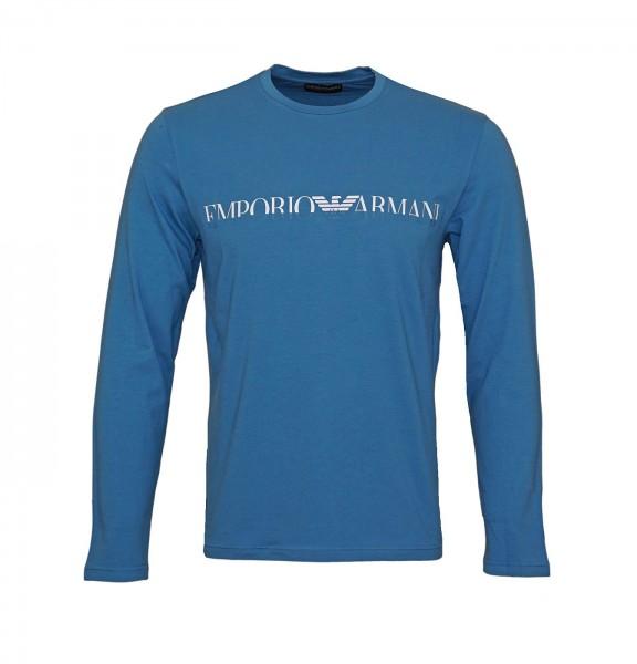 Emporio Armani Longsleeve R-Neck 111653 9A516 16531 blue SH19-EAX2