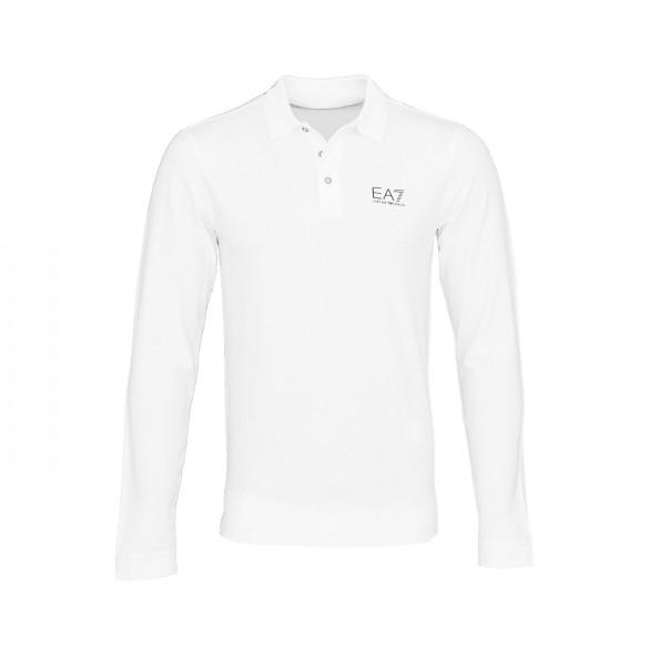 Emporio Armani EA7 Longsleeve Sweater 8NPF05 PJM5Z 1100 White