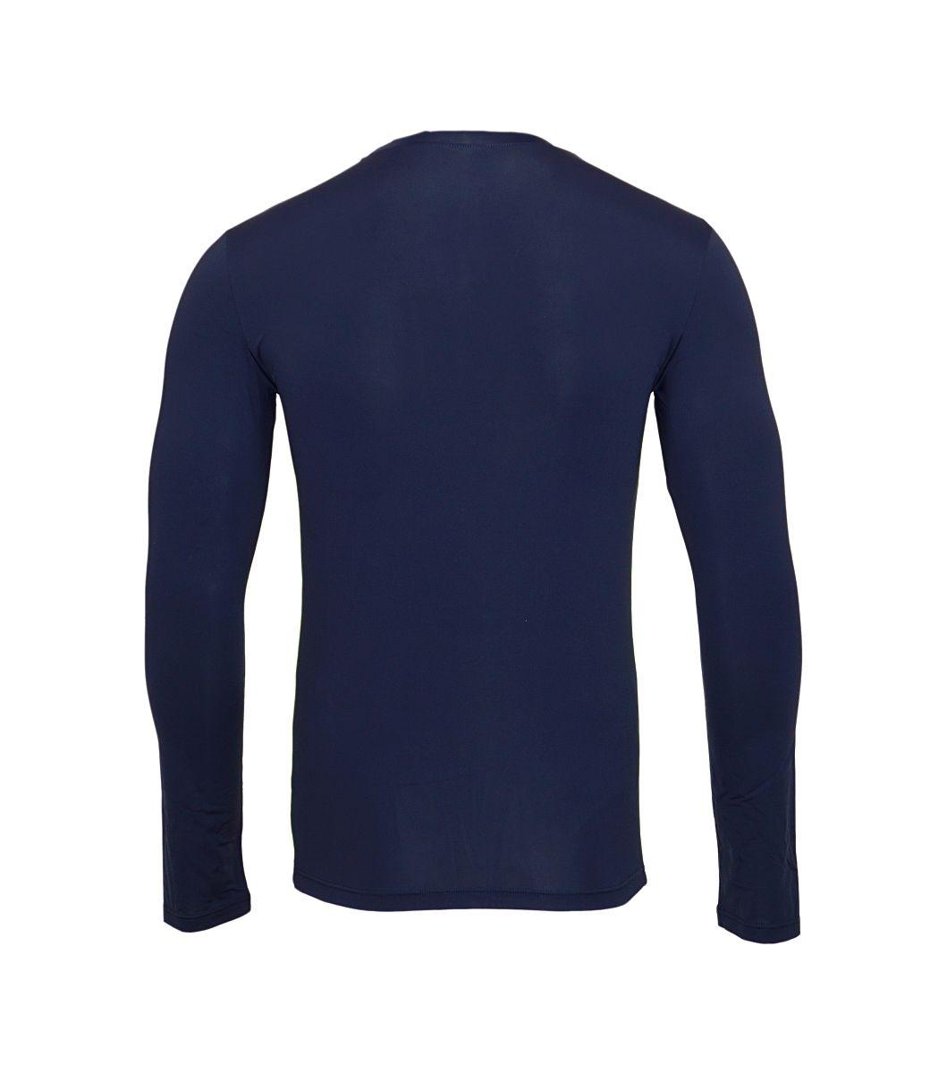 Emporio Armani Longsleeve Shirt Rundhals 111023 7A542 00135 MARINE HW17-EAL1