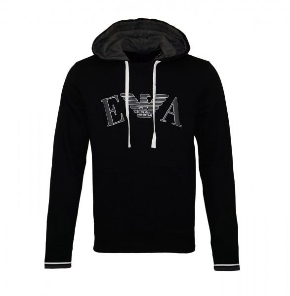 Emporio Armani Sweater Hooded 111753 9A571 00020 black SH19-EAX2