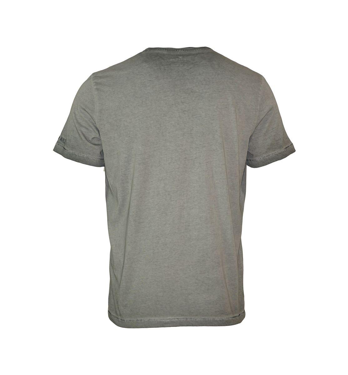 Tom Tailor Shirt T-Shirt Tee-Shirt Motorcycle prints tee grau 10340739910 2983