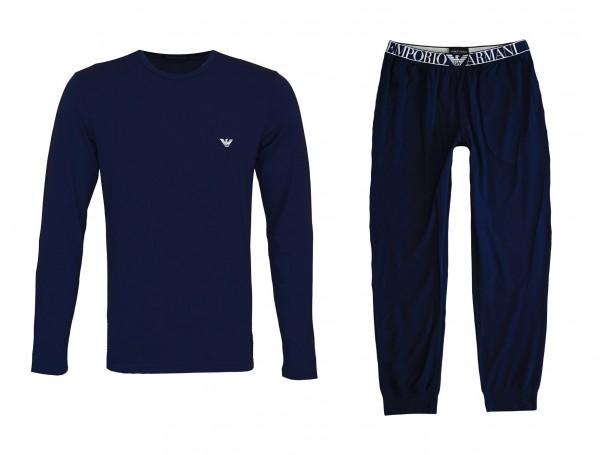 Emporio Armani Pyjama Schlafanzug 111789 0A720 00135 navy HW20-AS1