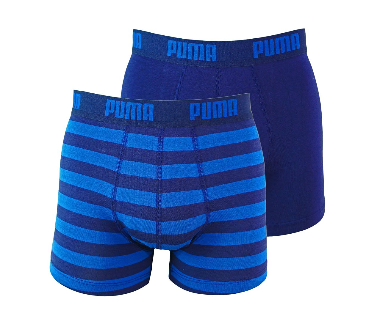 PUMA Shorts Unterhosen 2er Pack Boxer 651001001 056 020 blue SF17-PMS1