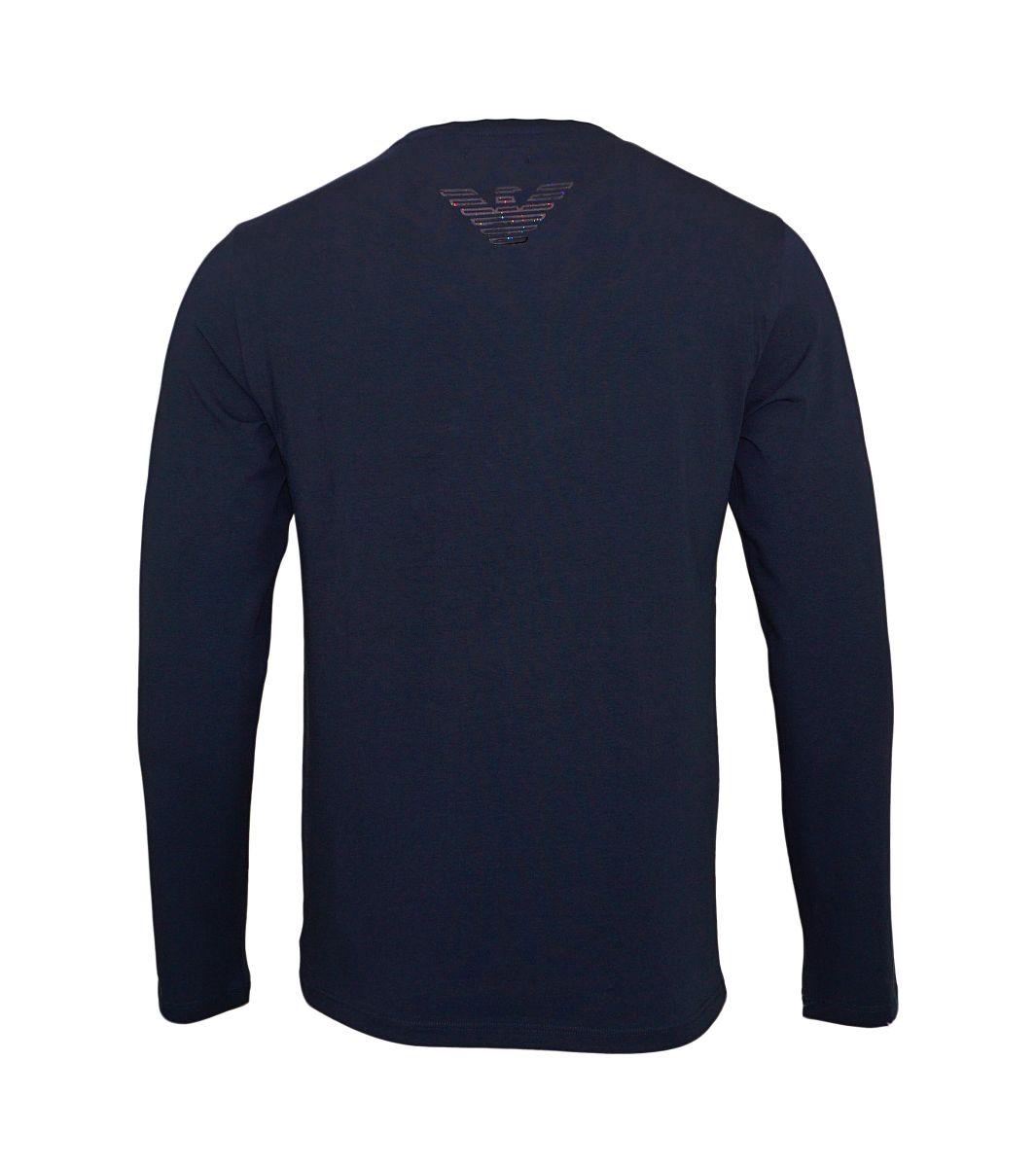 Emporio Armani Longsleeve Sweater Rundhals 111653 7A595 00135 MARINE HW17-AS1