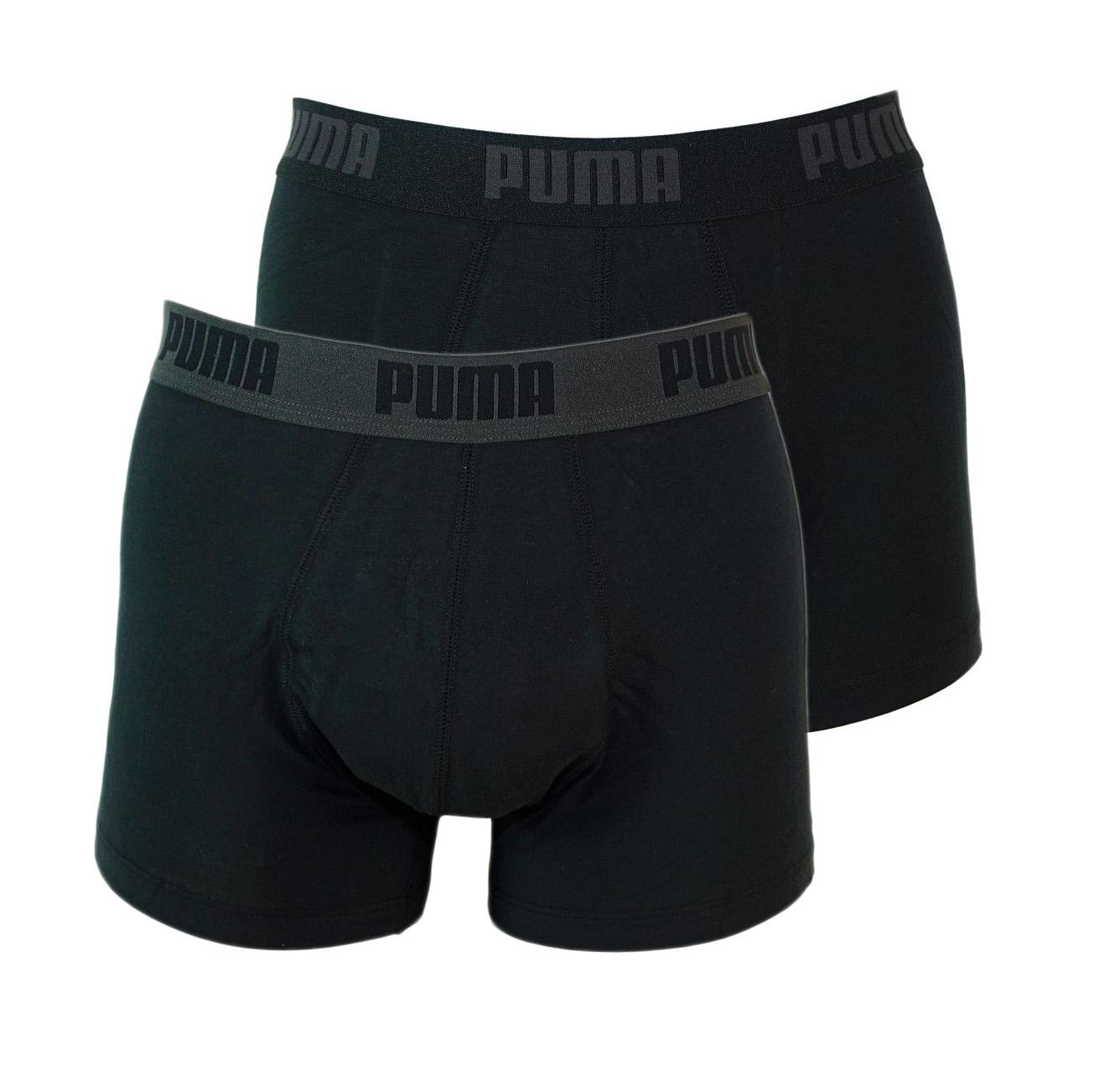 PUMA Shorts Unterhosen 2er Pack Trunk 521025001 230 020 black SF17-PMS1