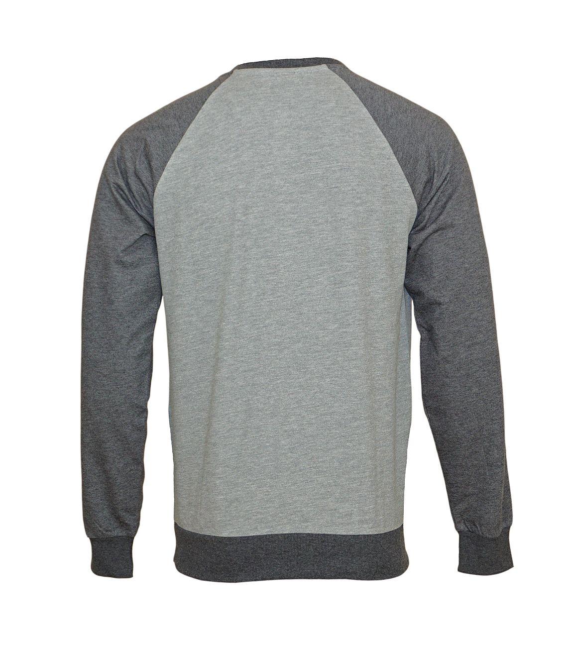 Emporio Armani Pullover Sweater Rundhals 111062 8A566 01548 GRIGIO MELANGE WX18-EAS