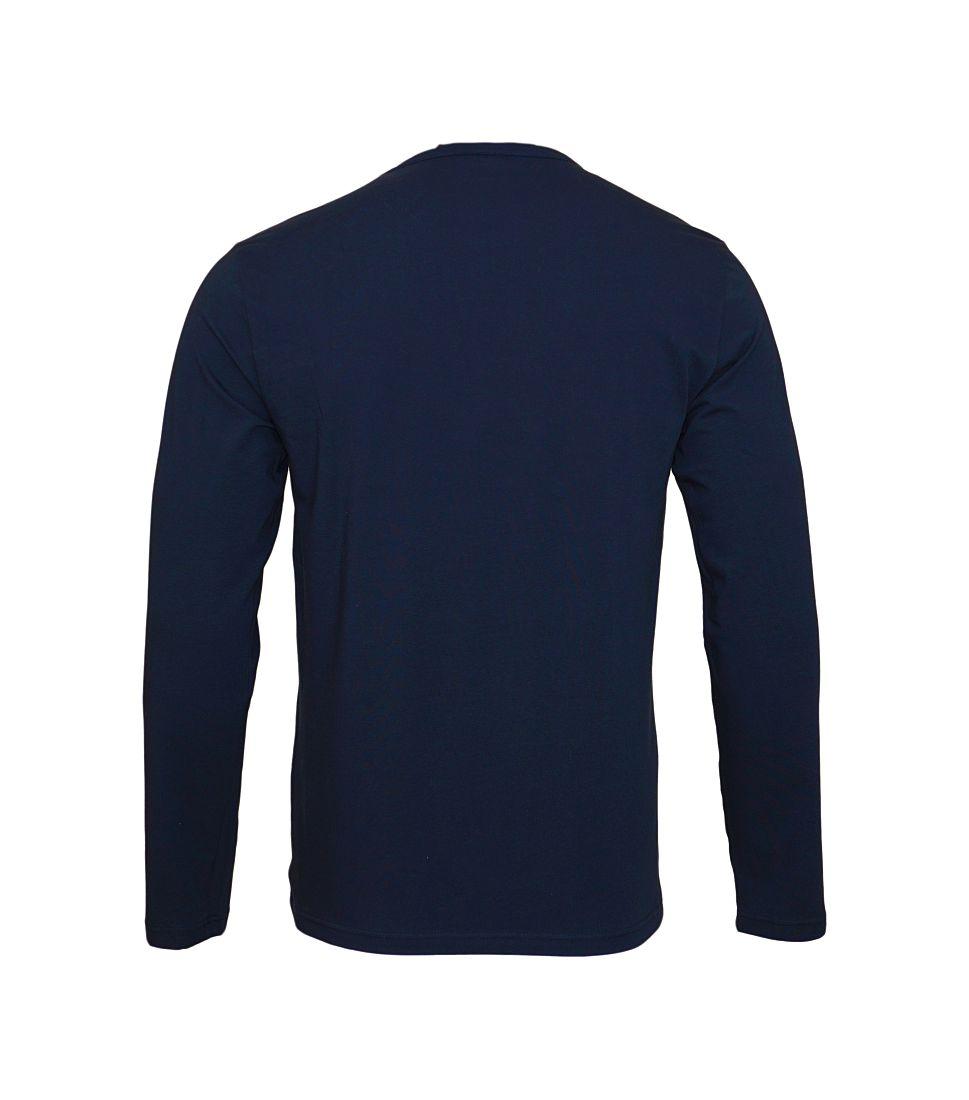 Emporio Armani Longsleeve Shirt Rundhals 111653 7A717 00135 MARINE SH17-EALS1