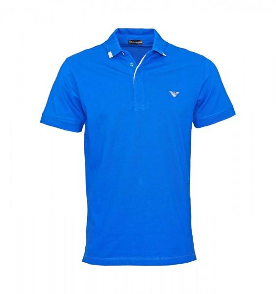 Emporio Armani Polo Poloshirt 211804 9P461 24333 blue WF19-EAP1