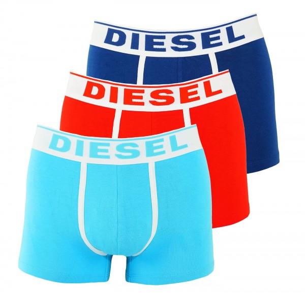 Diesel 3er Pack Boxer DAMIEN OJKKC E4123 blau, rot, türkis SS19-DB2