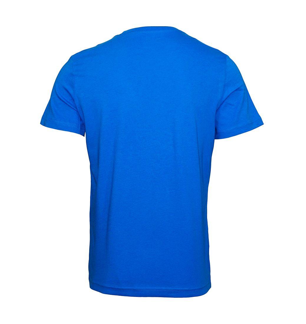 Tom Tailor T-Shirt Tee Shirt electric teal blue 1023549 0910 6850 WF17-JT2