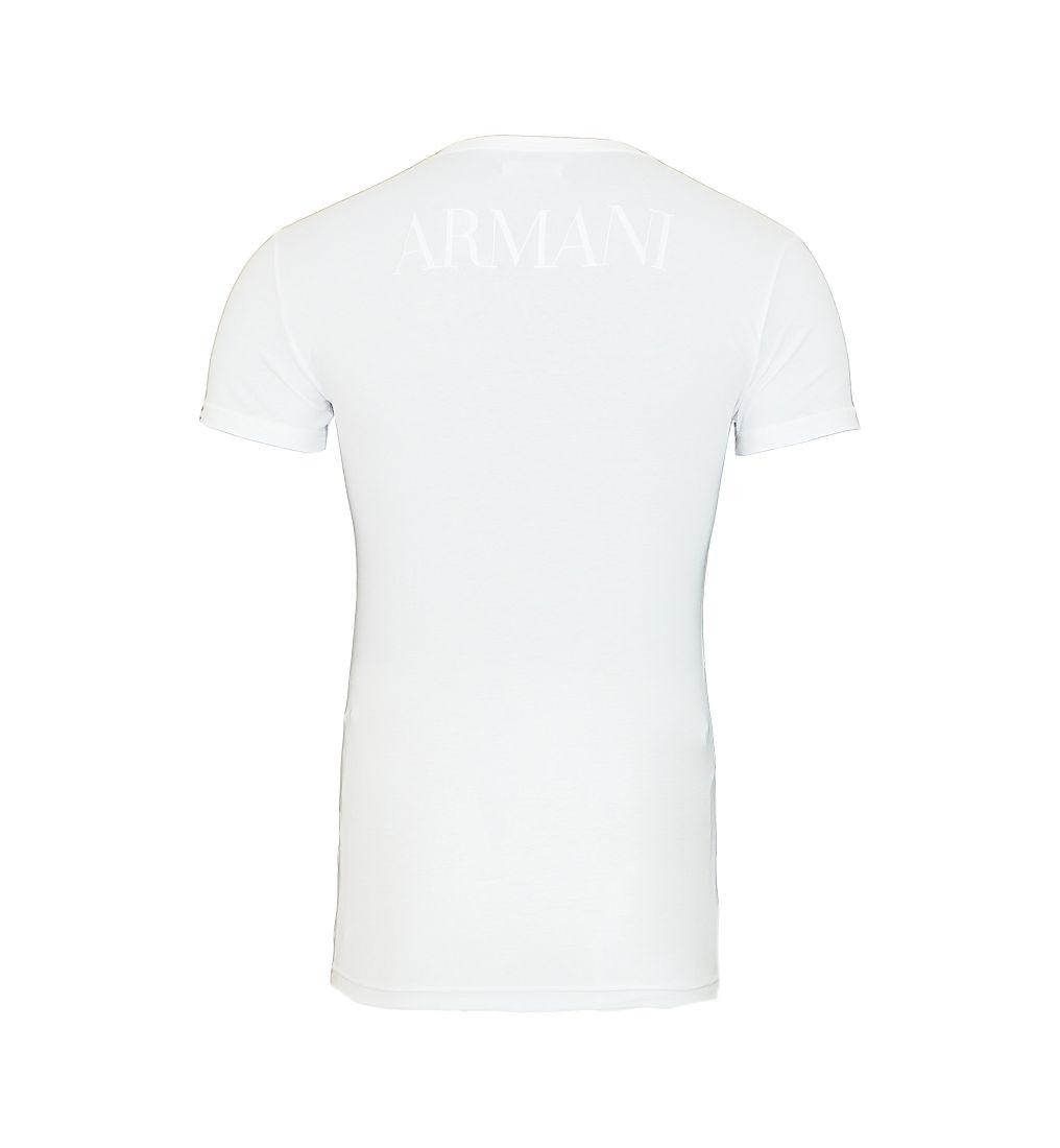 Emporio Armani Shirts T-Shirt 110810 CC716 00010 weiss S17-EATX1