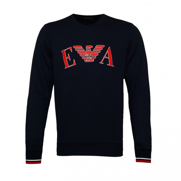 Emporio Armani Sweater R-Neck 111785 9A571 00135 navy SH19-EAX3