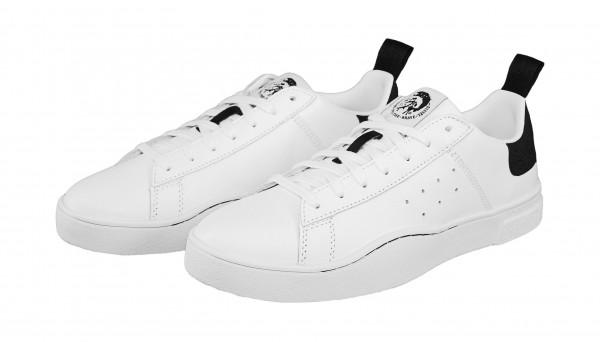 Diesel Sneaker CLEVER Low Y01748 P1729 H1527 white black SH19-DS1
