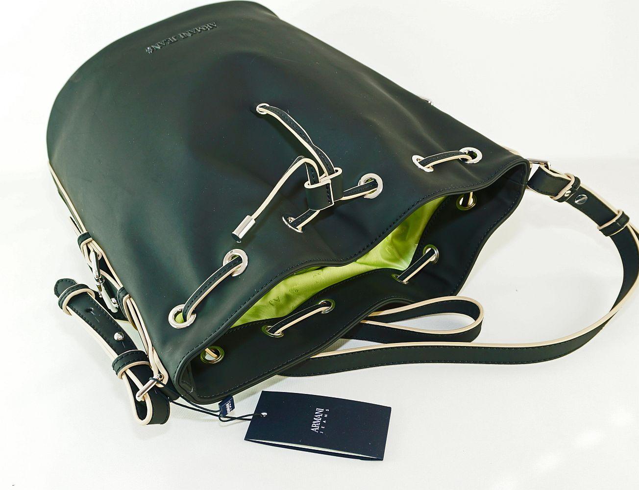 Armani Jeans Tasche Secchiello Austria 922212 7P772 00020 Nero Handtasche S17-AJT1