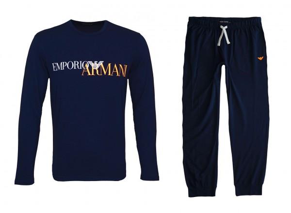 Emporio Armani Pyjama Schlafanzug 111907 0A516 00135 navy HW20-AS1