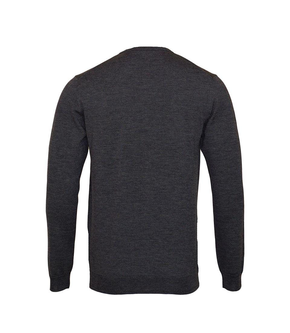 JOOP Strickpullover Pullover Damien V-Ausschnitt 10001600 029 anthrazit S17-JOP1