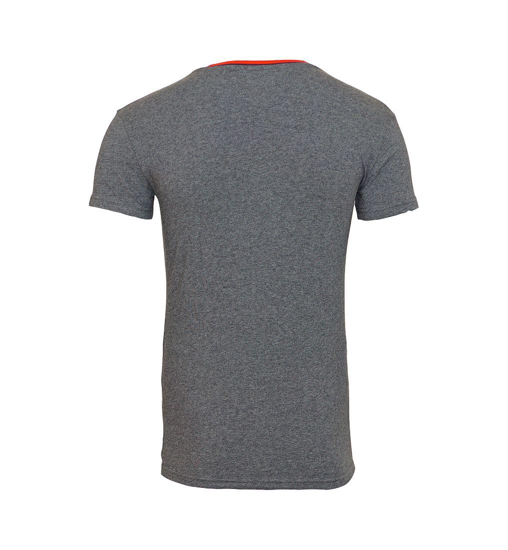 EMPORIO ARMANI T-Shirt Shirt V-Ausschnitt 110810 6A525 00449 GRIGIO SCURO MELANGE HW16
