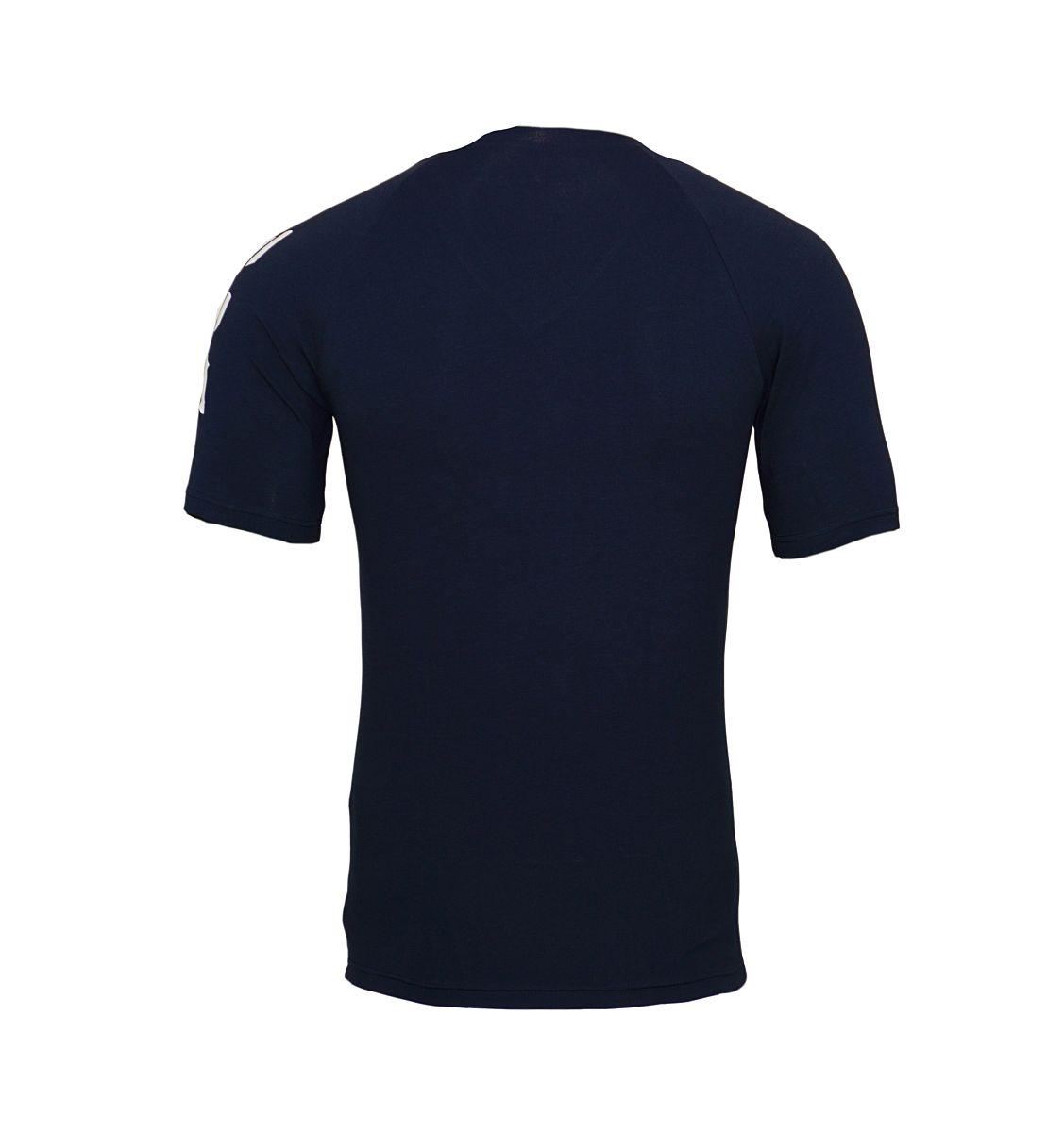 Emporio Armani T-Shirts V-Ausschnitt 111760 8P725 00135 MARINE W18-EATS1