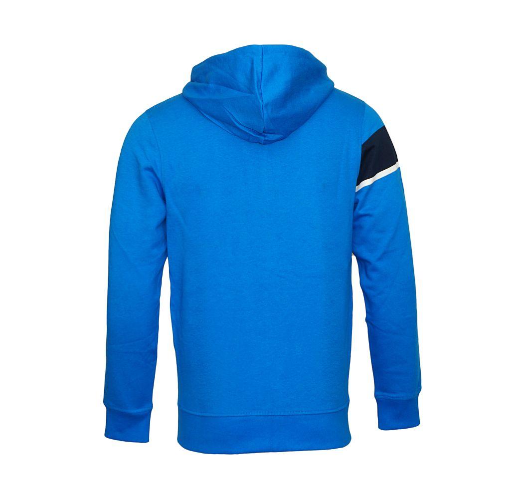 Jack & Jones Jacke Trainingsjacke Sweater blau Jcomove Sweat Hood Zip