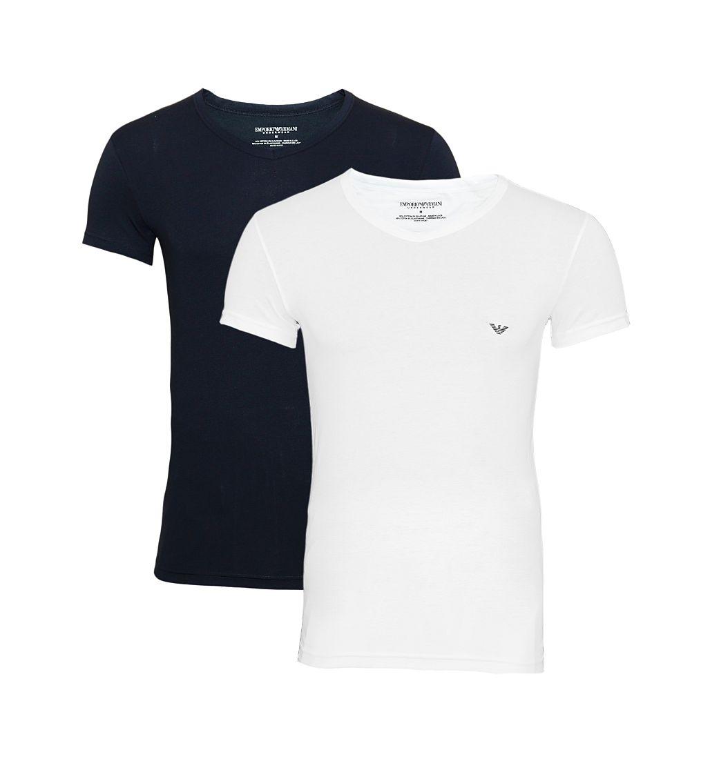 Emporio Armani Shirts 2er Pack T-Shirts 111512 CC717 10410 S17-EATX1
