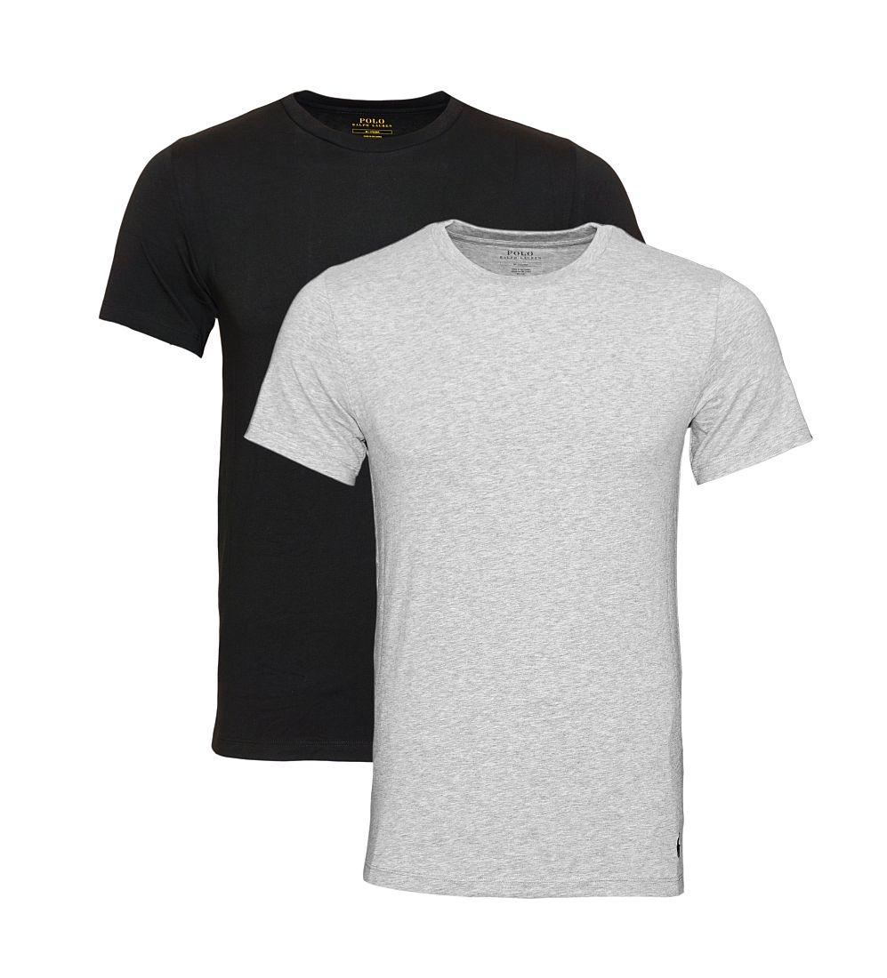 Ralph Lauren T-Shirts 2er Pack Jersey Knit Black / ANDOVER HEATH SH17-RLTS1