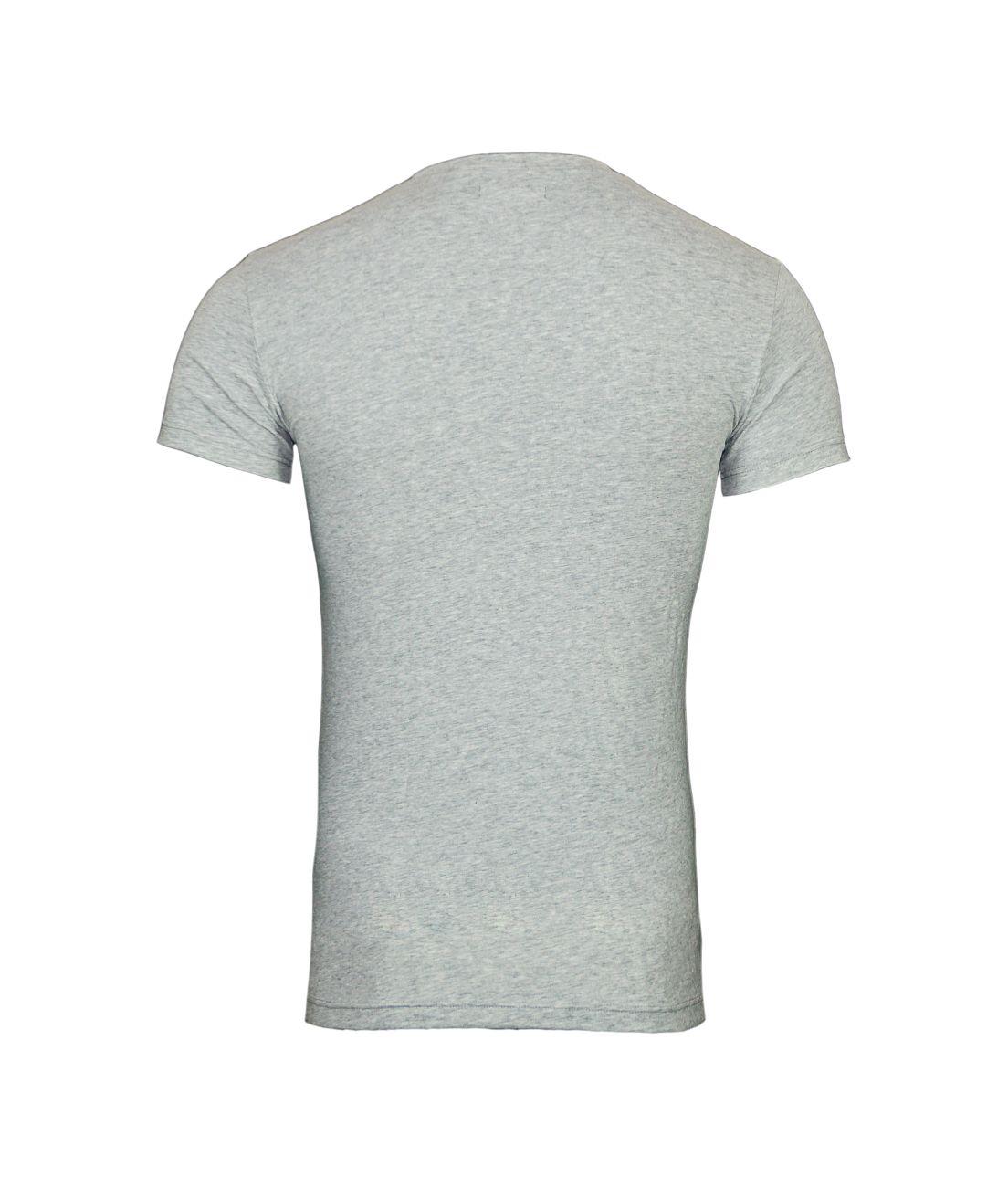 Emporio Armani T-Shirt Rundhals 111035 8P525 00048 GRIGIO MELANGE F18-EAT1