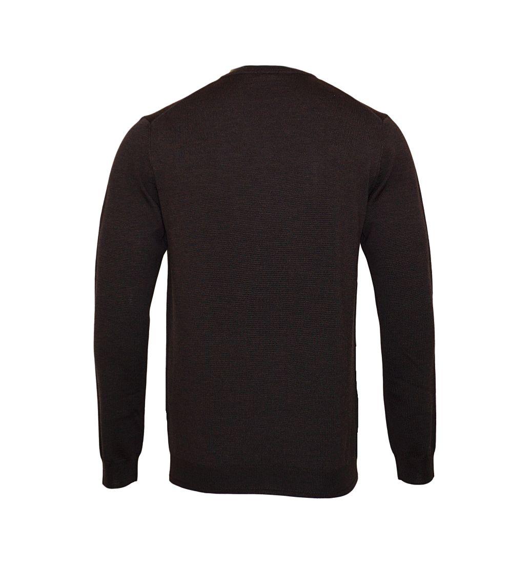 JOOP Strickpullover Pullover Damien V-Ausschnitt 10001600 202dunkelbraun S17-JOP1