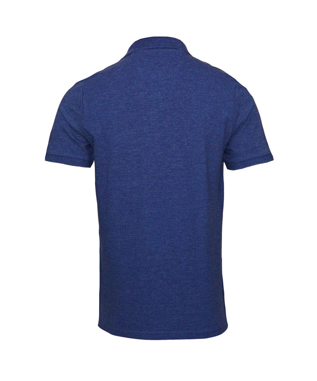 Daniel Hechter Poloshirt Polohemd 75021 181921 670 blau F18-DHP1