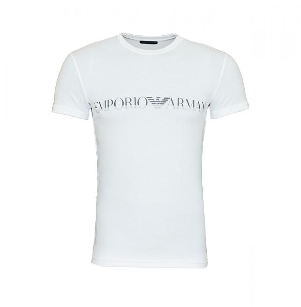 Emporio Armani T-Shirt Crew-Neck 111035 9A516 00010 white SH19-EAX1
