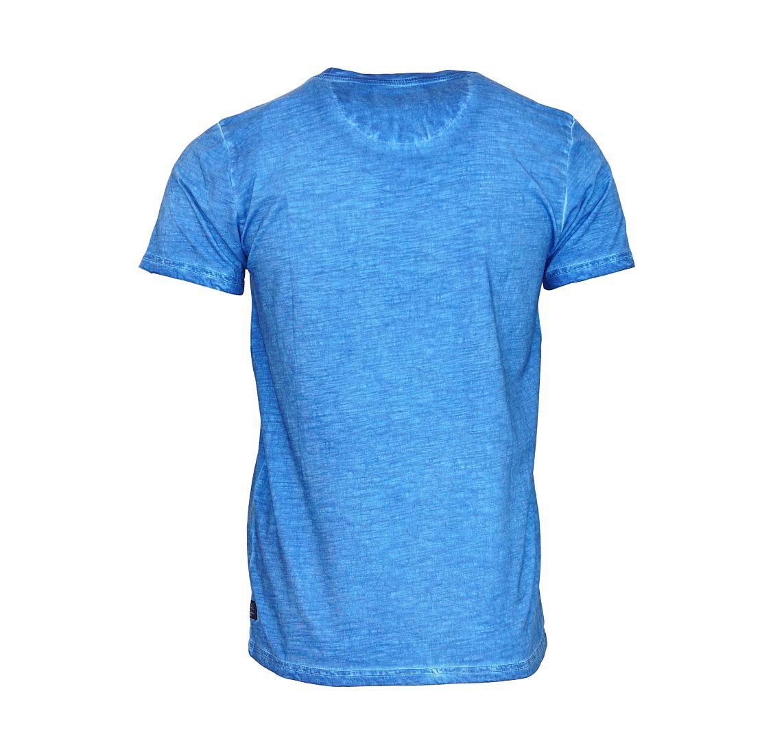 Petrol Industries T-Shirt Shirt blau M SS16 TSR604 570