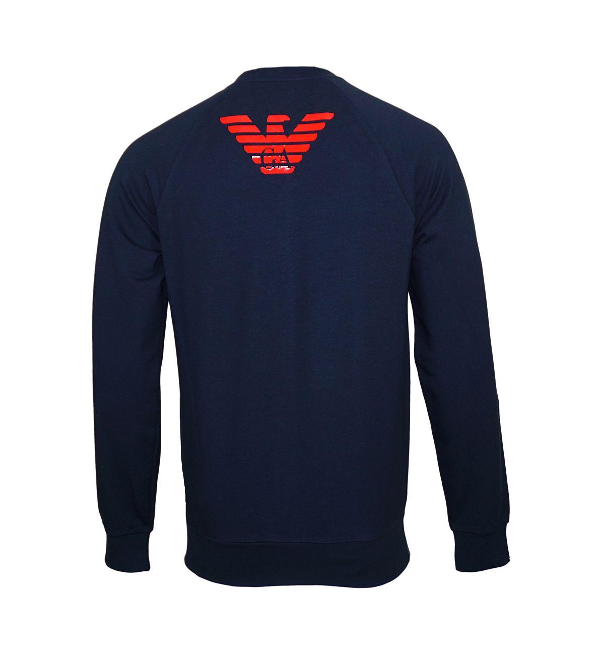 Emporio Armani Sweater Rundhals Pullover 111062 8P575 00135 F18-EAS1