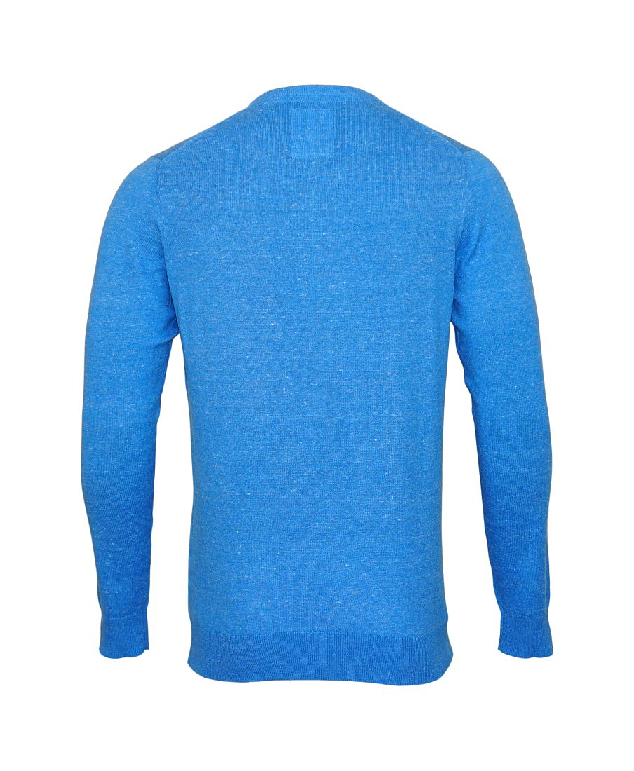 Daniel Hechter Pullover Strickpullover V blau 65999 171864 665 WF17-DHPU1