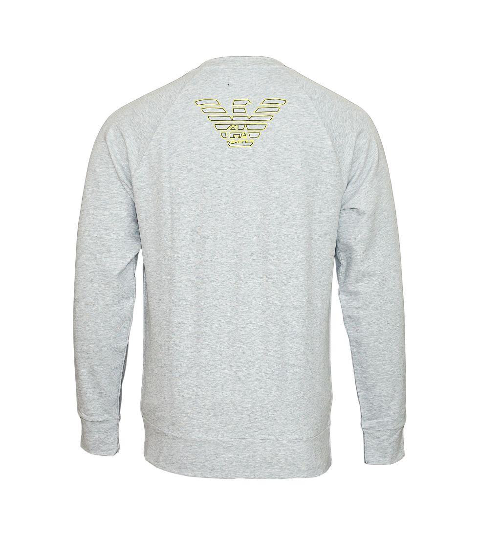 Emporio Armani Pullover Sweater 111062 7P575 00048 GRIGIO MELANGE grau S17-EAN2