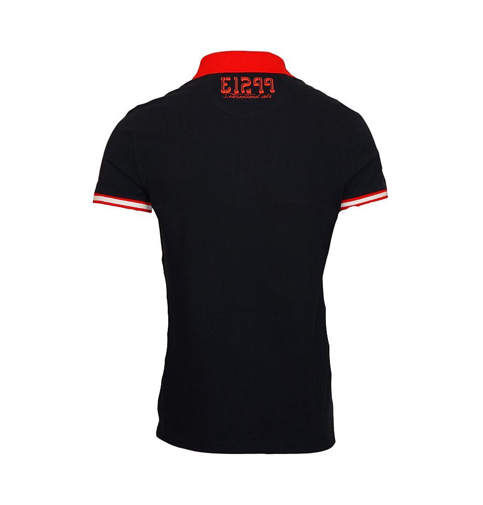 EA7 EMPORIO ARMANI Shirt Poloshirt Polo Sea World schwarz, weiss 273938 6P601 02836