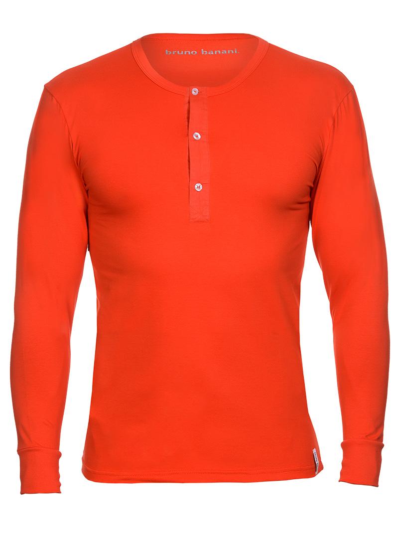 Bruno Banani Longsleeve Shirt rot Rundhals BB16 1342-2202-008Z