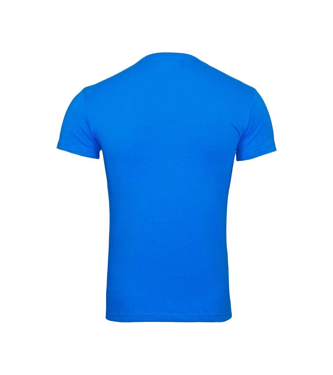 Emporio Armani T-Shirt Rundhals 111035 8P525 20833 CIELO F18-EAT1
