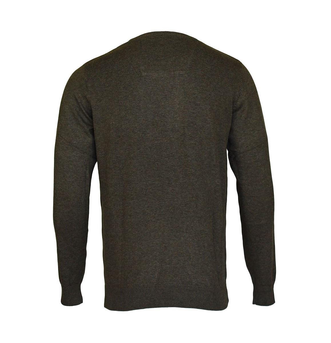 Tom Tailor Pullover Rundhals Herrenpullover Sweater 30197330910 8245 dark taupe brown