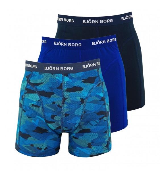 Björn Borg 3er Pack Boxer Boxershorts 9999-1132 70291 black, blue HW19-BB1