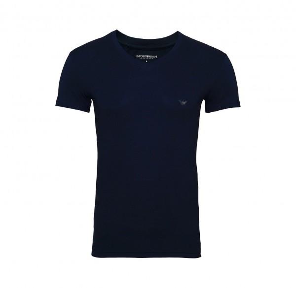 Emporio Armani T-Shirt V-Neck 110810 9P745 00135 navy FS19-EAT1