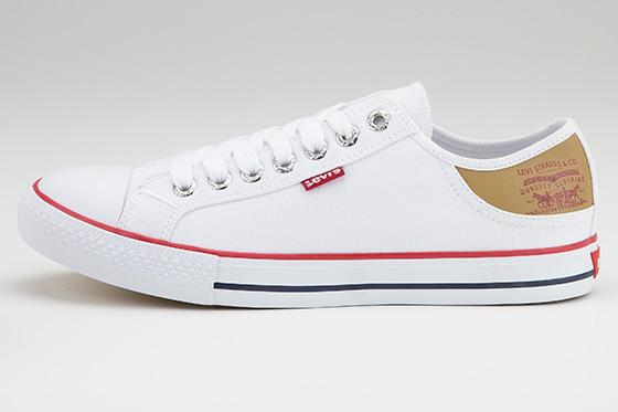 LEVIS Levi's Schuhe Schnürschuhe Sneaker STAN BUCK weiss 223001-733-51 S17-LES1