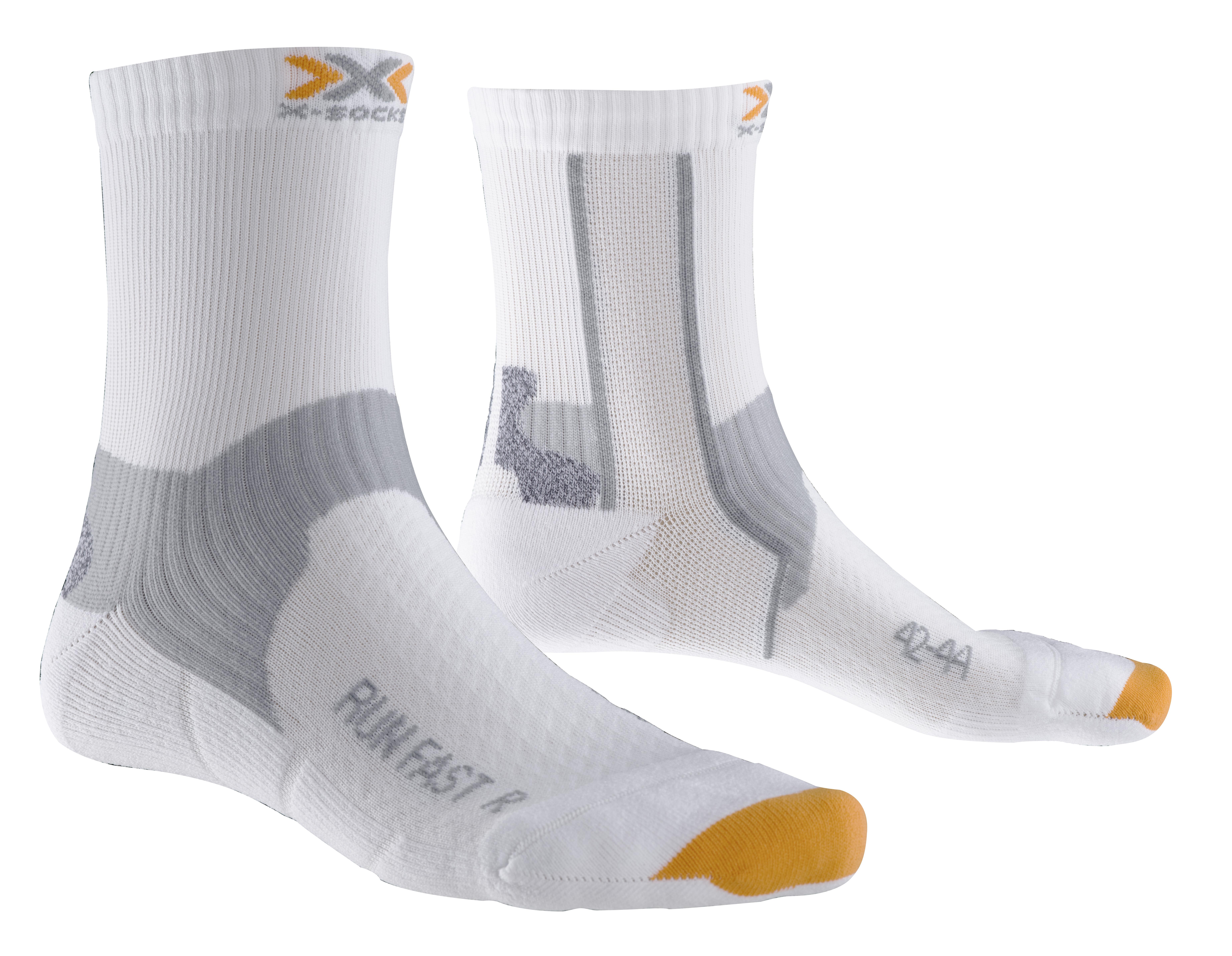 X-SOCKS Socken, Strümpfe Run Fast weiß unisex von Gr. 35 - 47 S17-XS1