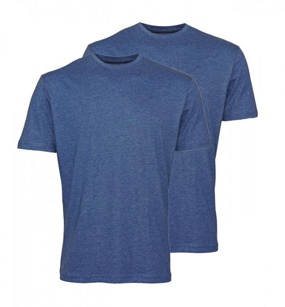 Daniel Hechter 2er Pack T-Shirts Rundhals 67001 191972 690 Marine FS19-DHT1
