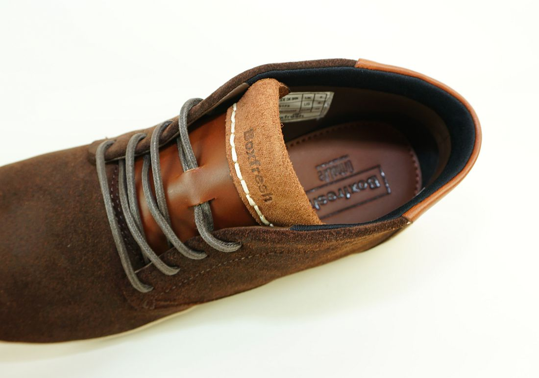 Boxfresh Schnürschuhe Schuhe Salvendon CH SDE E-15173 Dunkelbraun Sneaker SH17-BFS1