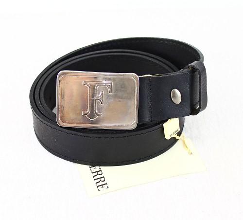 Gianfranco Ferre Ledergürtel Leder Gürtel 91021701 schwarz 110 cm