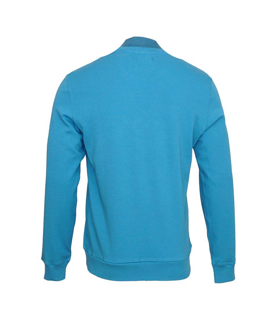 Emporio Armani Sweater Pullover Rundhals 111437 7A561 16832 BLU CADETTO SH17-EASW1