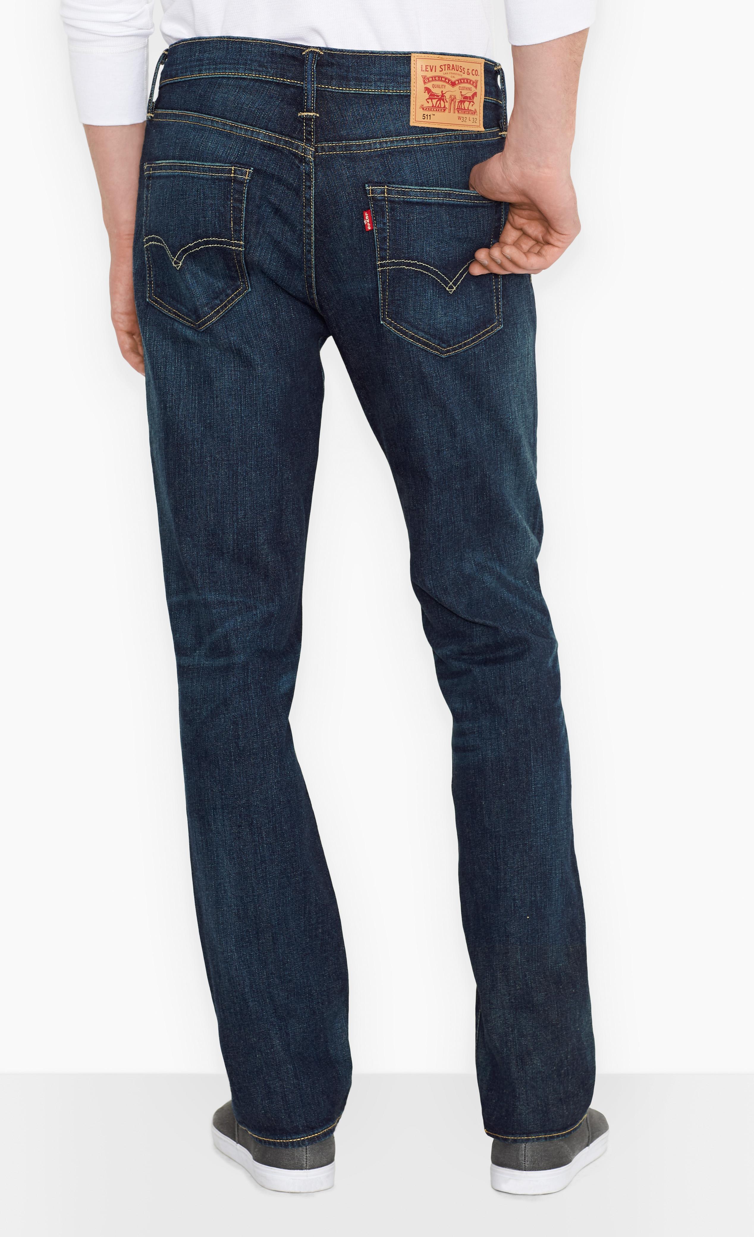 LEVIS Jeanshose Jeans 04511-0709 511 SLIM FIT RAINSHOWER W18-LJJ1