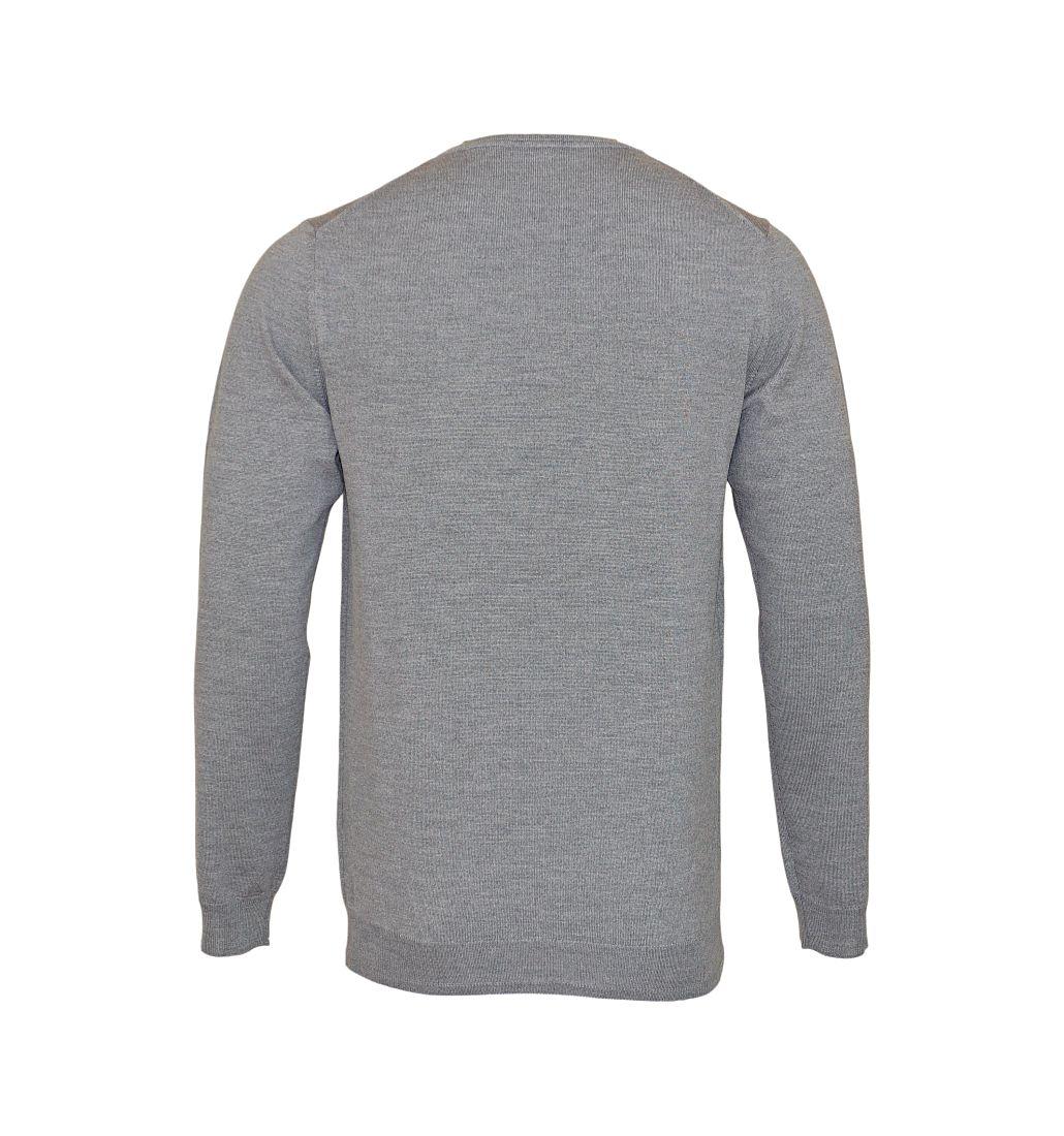 JOOP Strickpullover Pullover Denny Rundhals 10001600 041 grau S17-JOP1